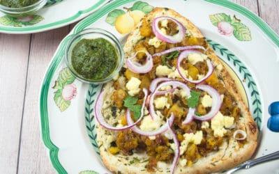 Naan Pizza Recipe