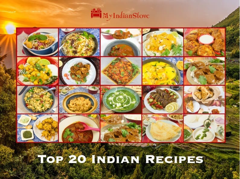 Top 20 Indian Recipes