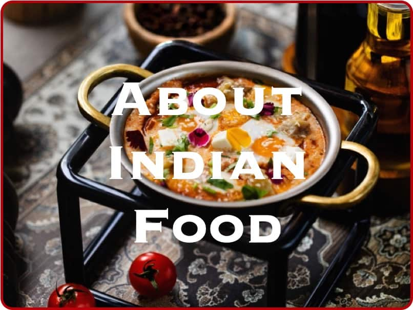 About Indian Food