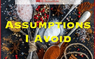 Assumptions I Avoid