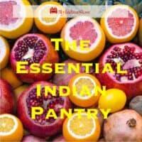 Beginners Indian Pantry