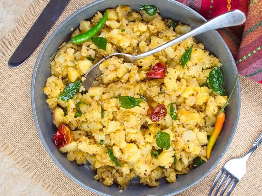 Potato Masala (Curry)