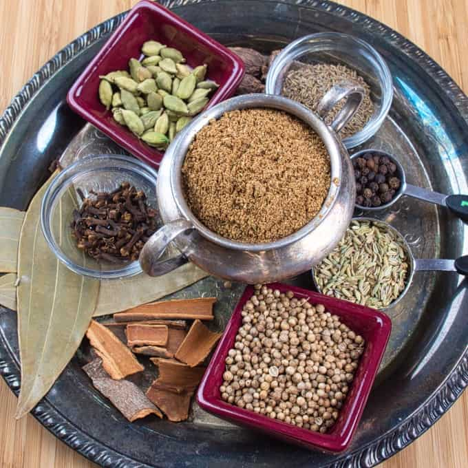 Garam Masala Powder All the spices toasted and ground. Ready to flavor many Indian dishes.