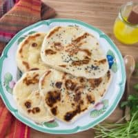 Homemade Naan (No-Yeast)