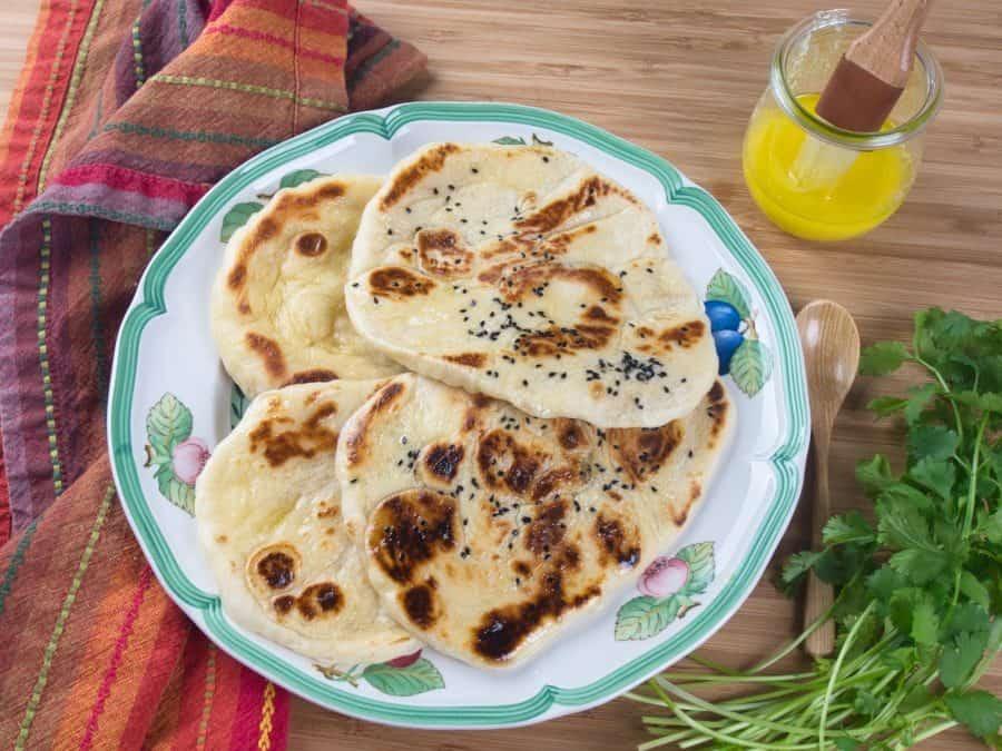 Homemade Naan (No-Yeast)