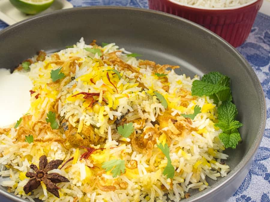 Easy, Enticing Chicken Biryani