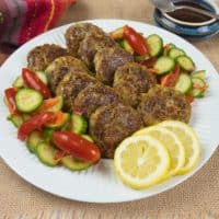 Indian Spiced Kebabs (Kavab) Pototoes are joined by the other ingredients.