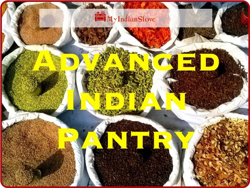 Advanced Indian Pantry