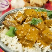 Coconut Lamb Curry (Madras Curry)