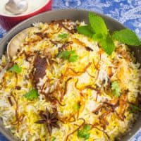 Easy, Enticing Chicken Biryani