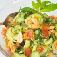 Indian Cucumber Salad (Kachumber)