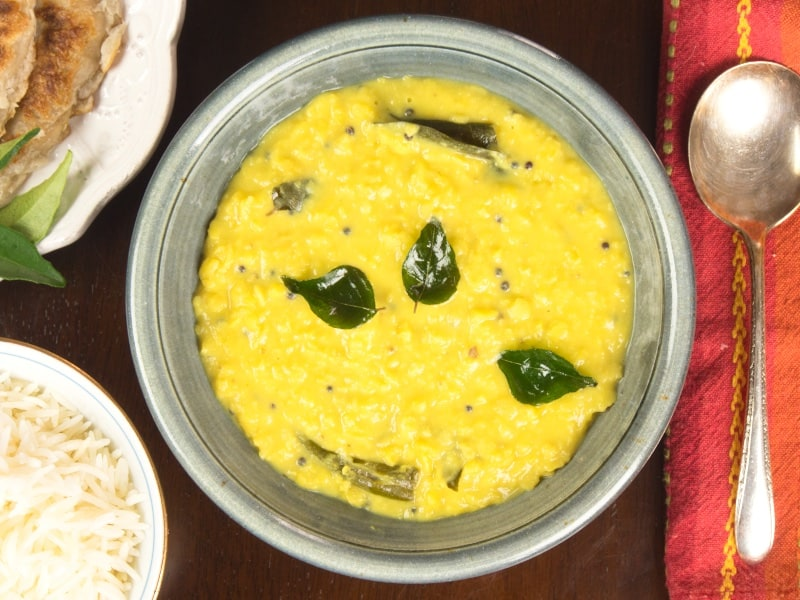 Coconut Lentil Curry (Kerala Parippu)
