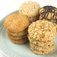 Chewy Coconut Almond Cookies (Gluten Free)