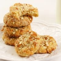 Paleo Coconut Almond Cookies (GF)