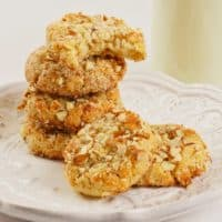 Paleo Coconut Almond Cookies (GF)