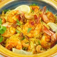 Instant Pot Shrimp Biryani Kerala-Style