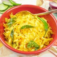 Cabbage Stir-Fry (Kerala Thoran)