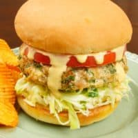 Indianish Turkey Burger