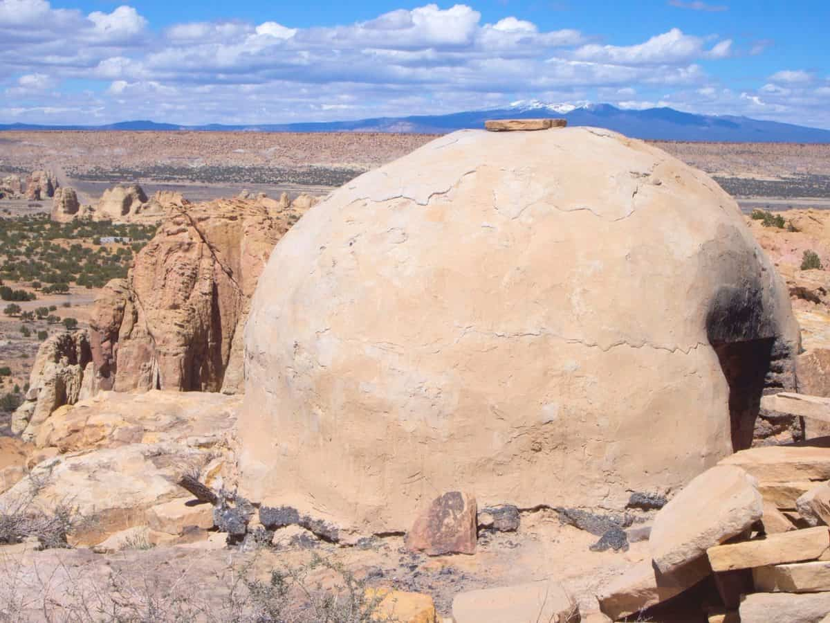 Bread Oven At Sky City, Acoma Pueblo