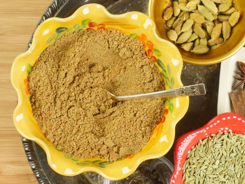 Kerala Garam Masala Freshly ground and ready to flavor South Indian dishes.