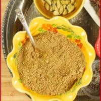 Kerala Garam Masala Freshly ground homemade spices are ready to flavor all your South Indian dishes.