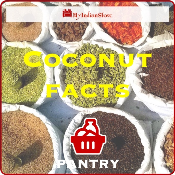 Coconut Facts All about cooking and caking with coconut.