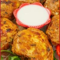 Easy Roast Tandoori Chicken Roasted and ready for a simple raita sauce on the side.