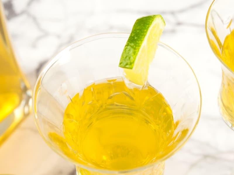 Easy Homemade Mango Liqueur