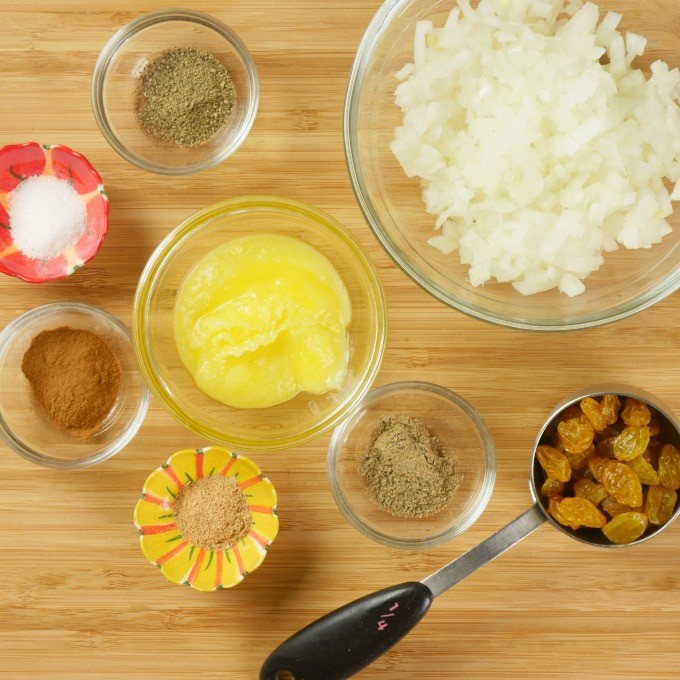 Chicken Korma ~ Instant Pot - Masala ingredients gathered and ready to mix and mingle.