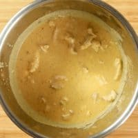 Chicken Korma ~ Instant Pot - Korma finished and resting for a minutes in the Instant Pot.