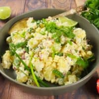 Indian-ish Yogurt Potato Salad
