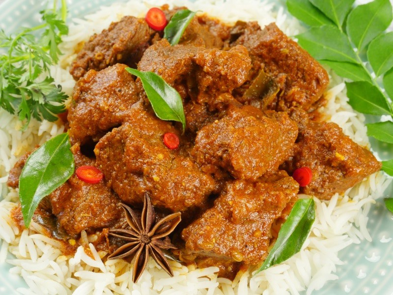 Instant Pot Beef Curry (Kerala)