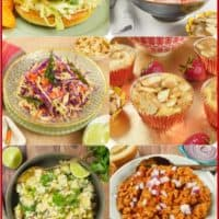 Six recipes for family favorites, ice cream, burgers and more!