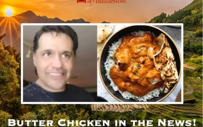 Butter Chicken in the News!