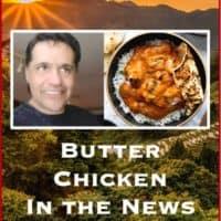 Australian man broke curfew and travels 30 kilometers for butter chicken.