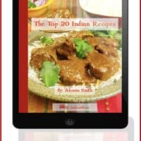 Free Top 20 Indian Recipes eBook