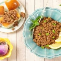 Weeknight Beef Keema Curry