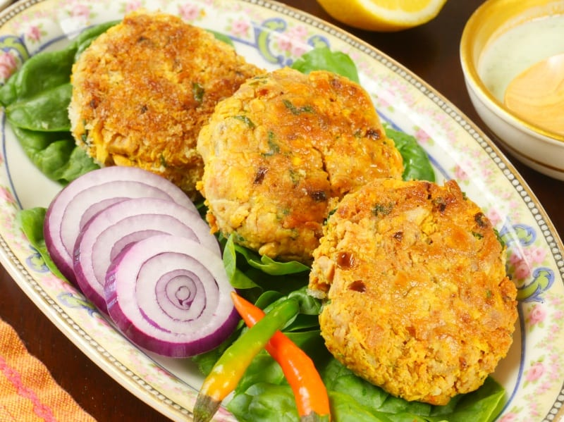 Fish Patties Goan-Style