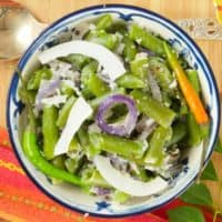 Easy Coconut Green Beans