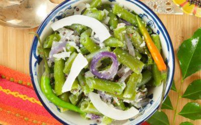 Easy Coconut Green Beans