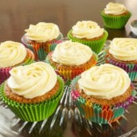 Indianish Carrot Cupcakes Recipe