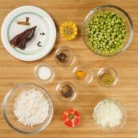 Comforting Goan Dal ~ Ingredients gathered.