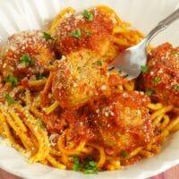 Spaghetti & Curry Meatballs 1