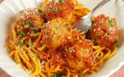 Spaghetti & Curry Meatballs 1