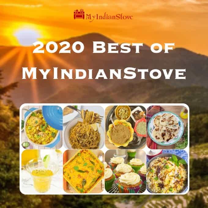 Most Popular MyIndianStove Recipes of 2020