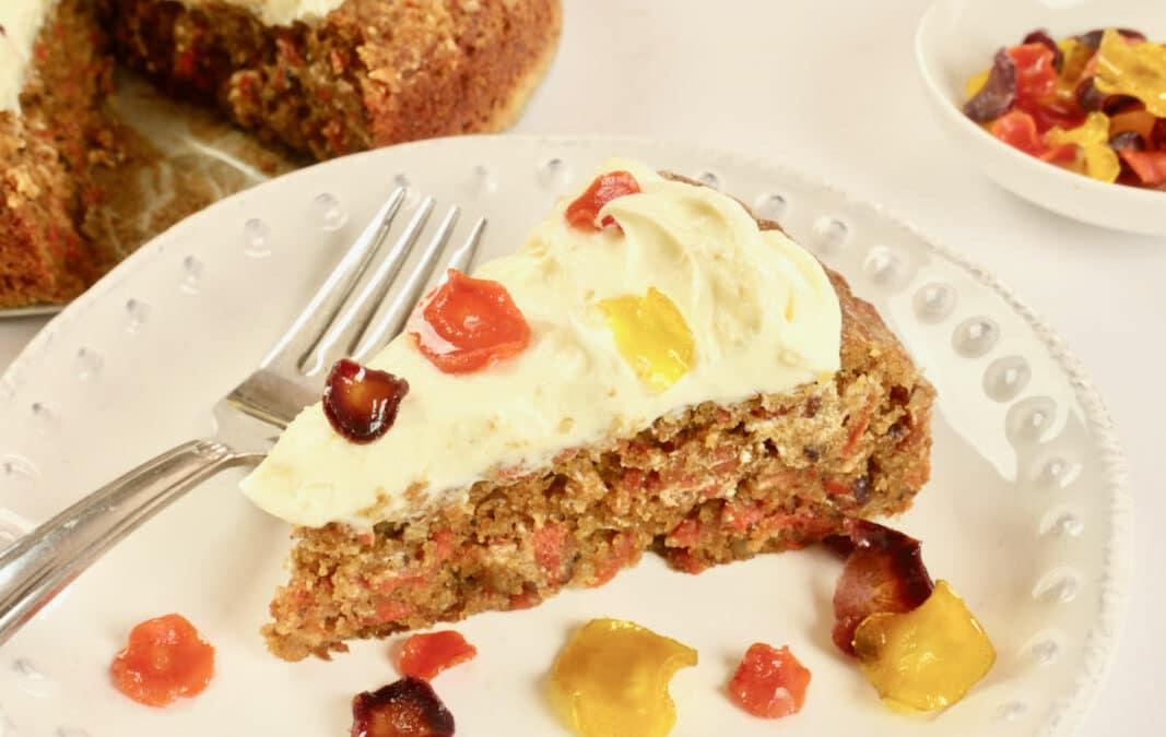 Gluten-free Spiced Carrot Cake