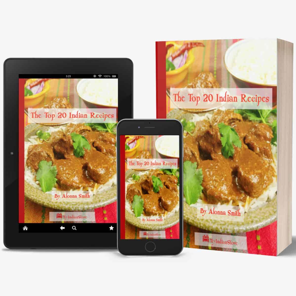 Top 20 Indian Recipes e book